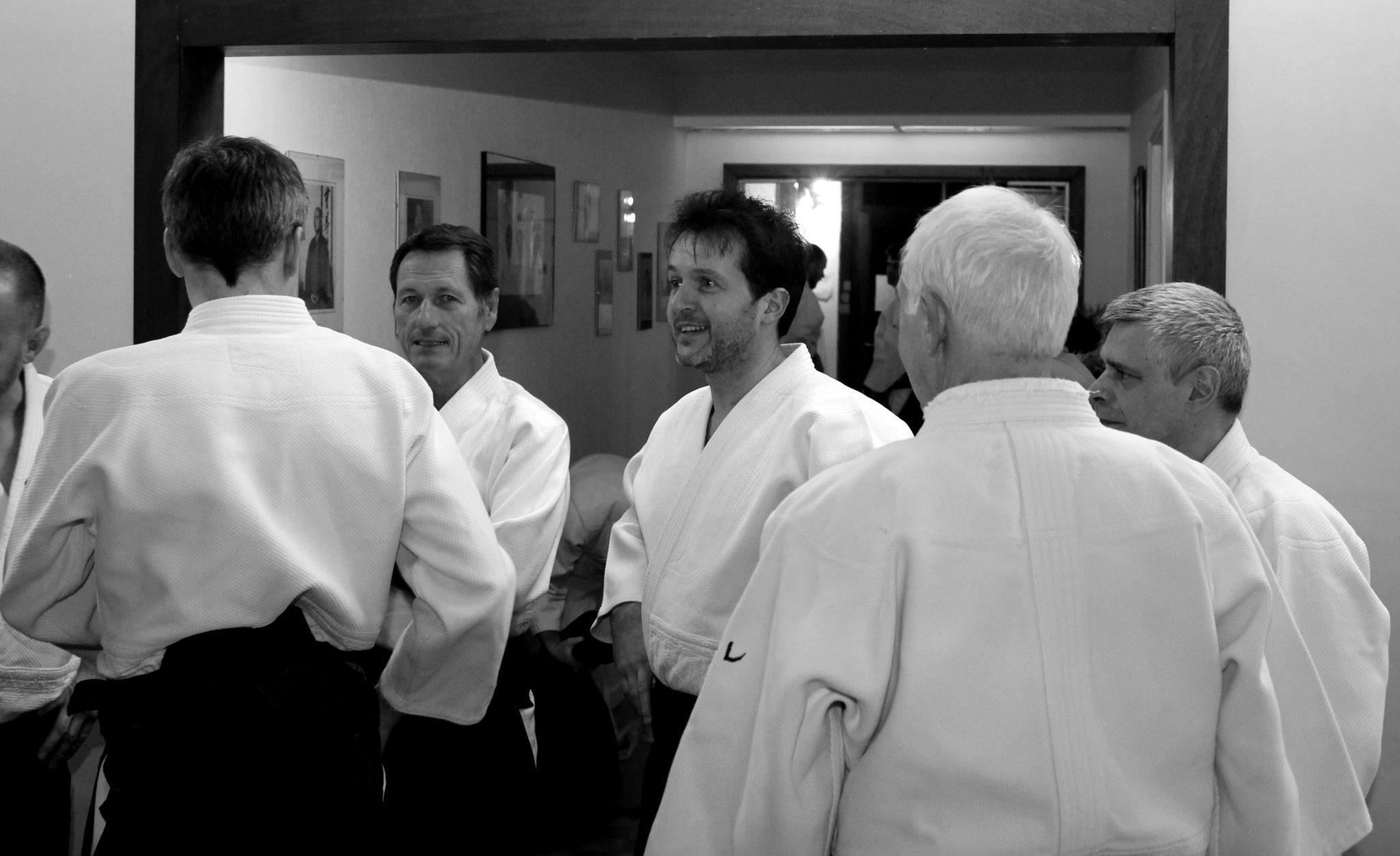 Stage avec Christian Tissier au Shoshin dojo